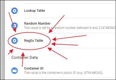 Google Tag Manager just keeps on giving - RegEx Tables - Search Star